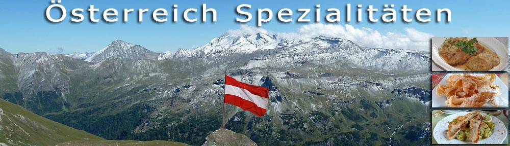 Österreich Spezialitäten