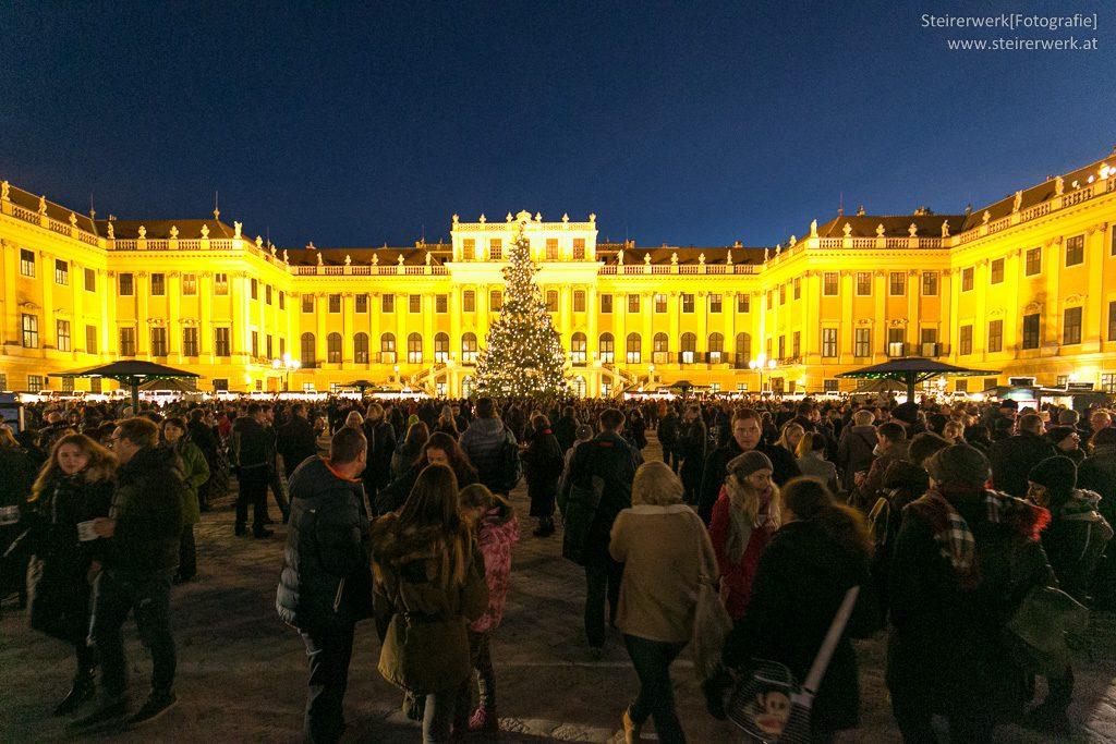 Weihnachtsmarkt Schloss Schönbrunn Wien