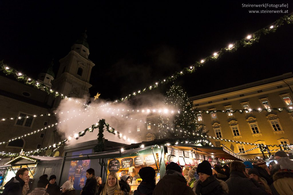 Adventmarkt in Salzburg am Adventwochenende