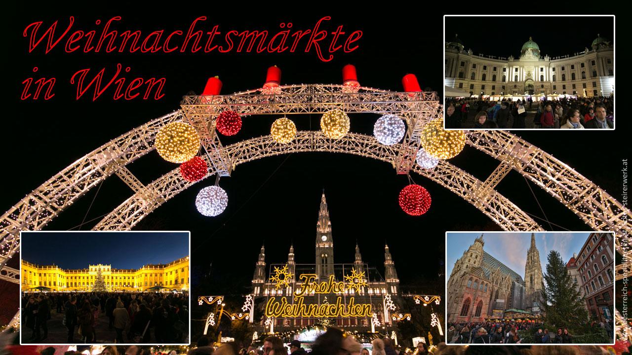Weihnachtsmärkte Wien