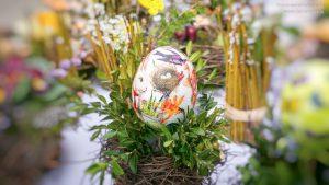 Ostern Dekoration Osterei
