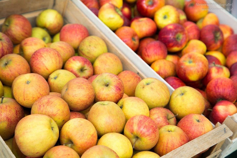 Äpfel in Österreich