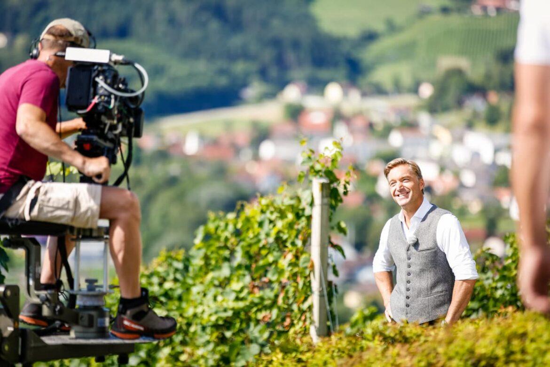 Österreich vom Feinsten ORF-Dreharbeiten mit Hans Knauß